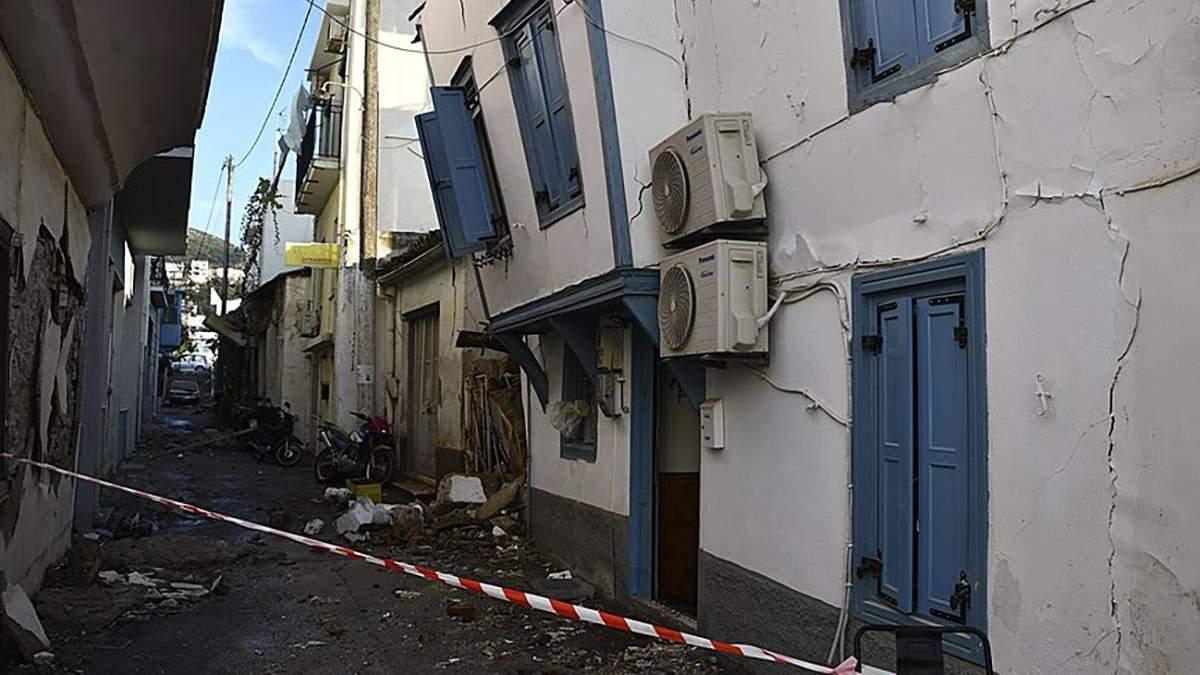 Землетрясение в Греции на острове Самос 30 октября 2020: жертвы