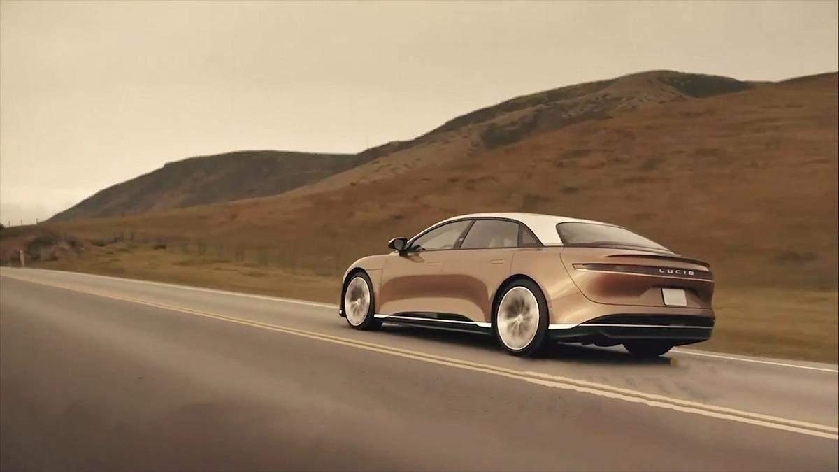 Трехмоторный Lucid Air сможет побить рекорд Tesla Model S