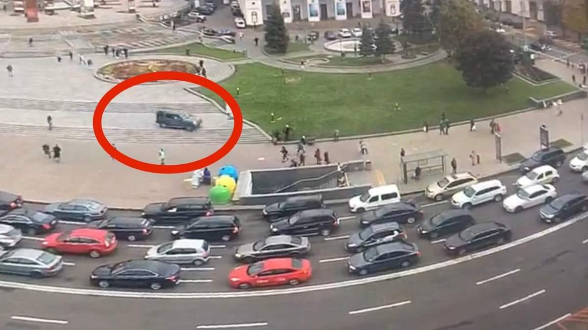 Винуватцю ДТП на Майдані повідомили про підозру