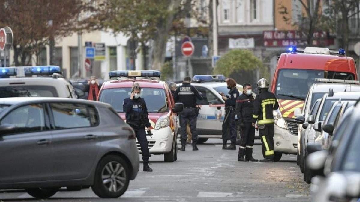 Стрілянина біля церкви у Ліоні 31.10.2020 - фото, відео