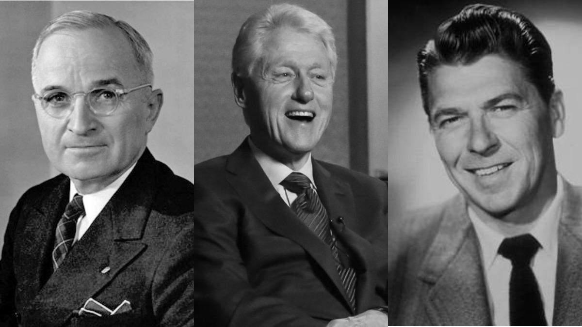 Трумен, Рейган, Клинтон