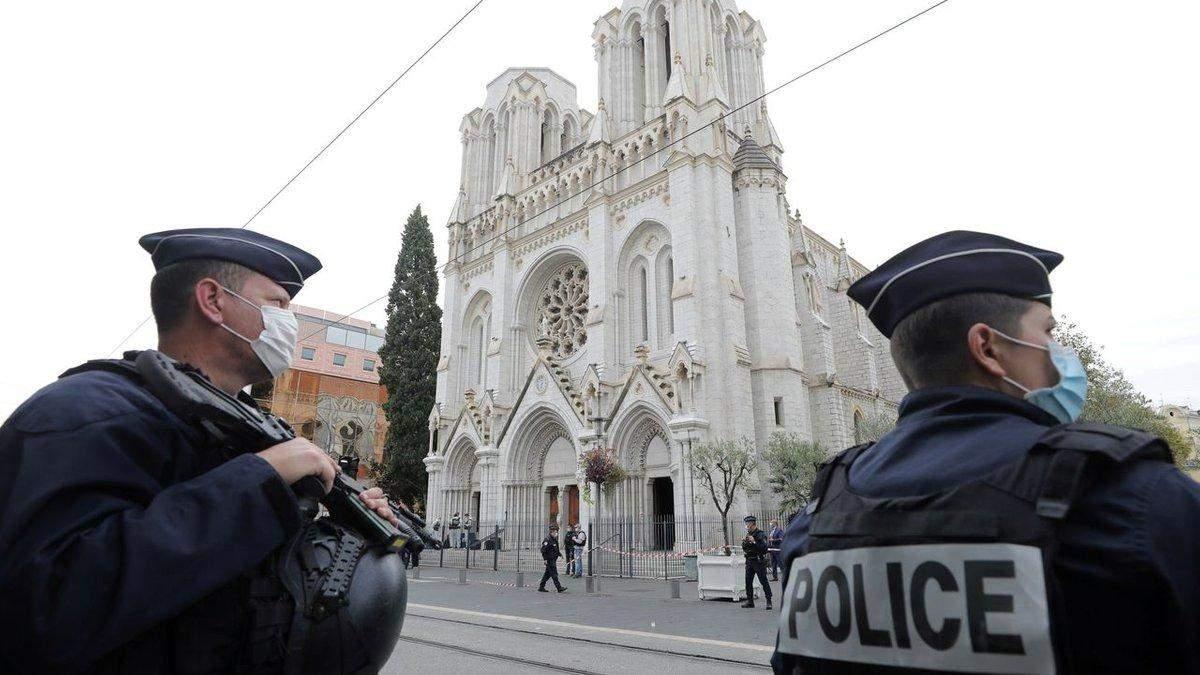 Кількість затриманих через теракт у Ніцці 29.10.2020 зростає