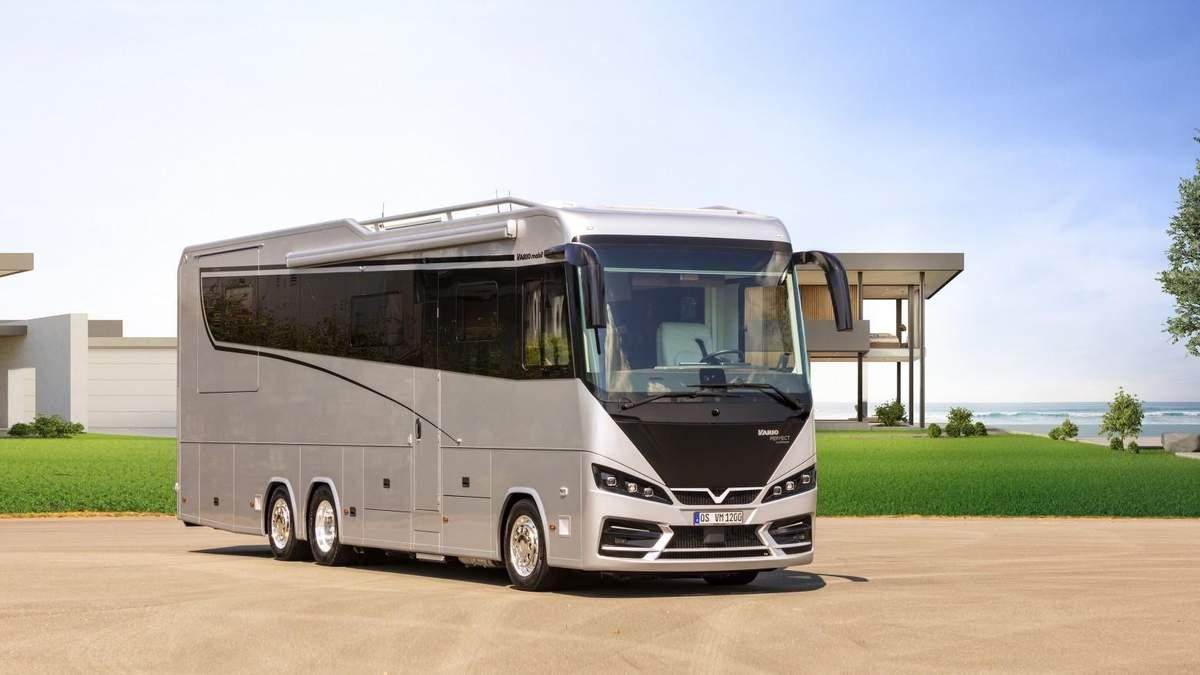 Мобильный дом построен на основе Mercedes Actros