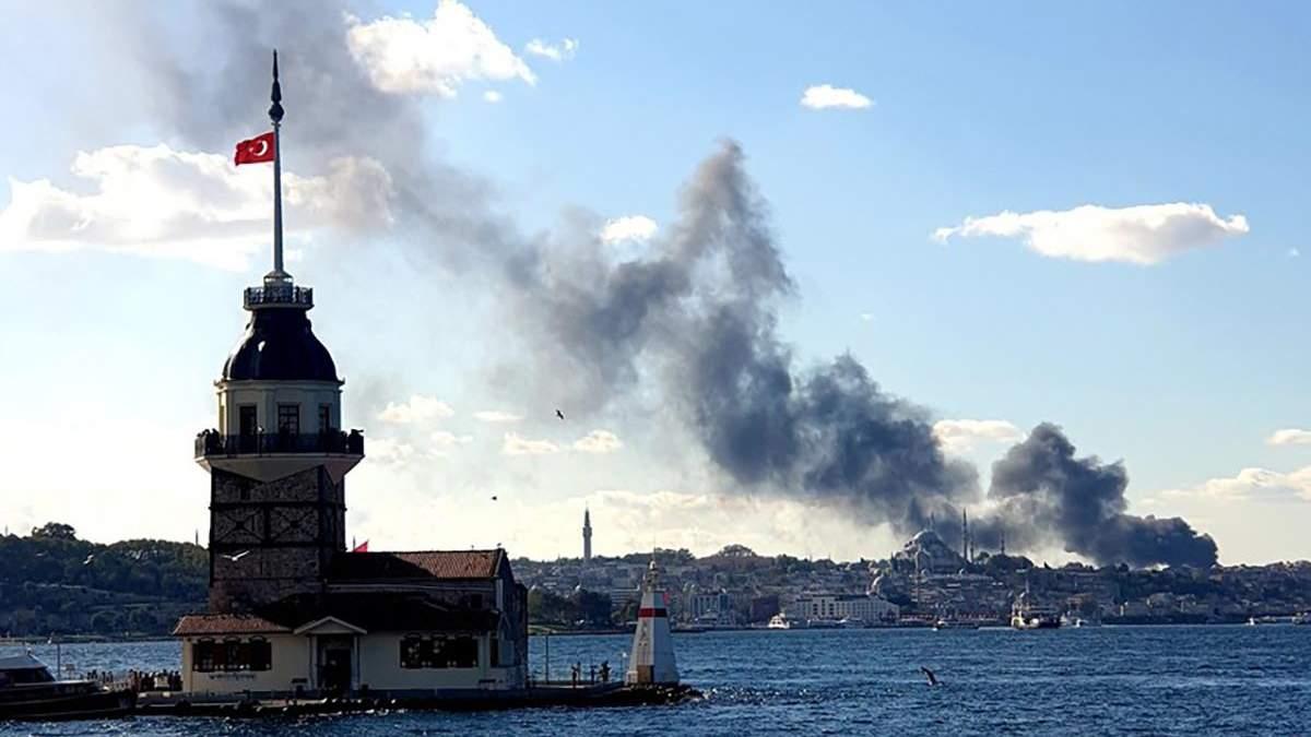 Пожежа і вибухи в лікарні Стамбула 1 листопада 2020: відео