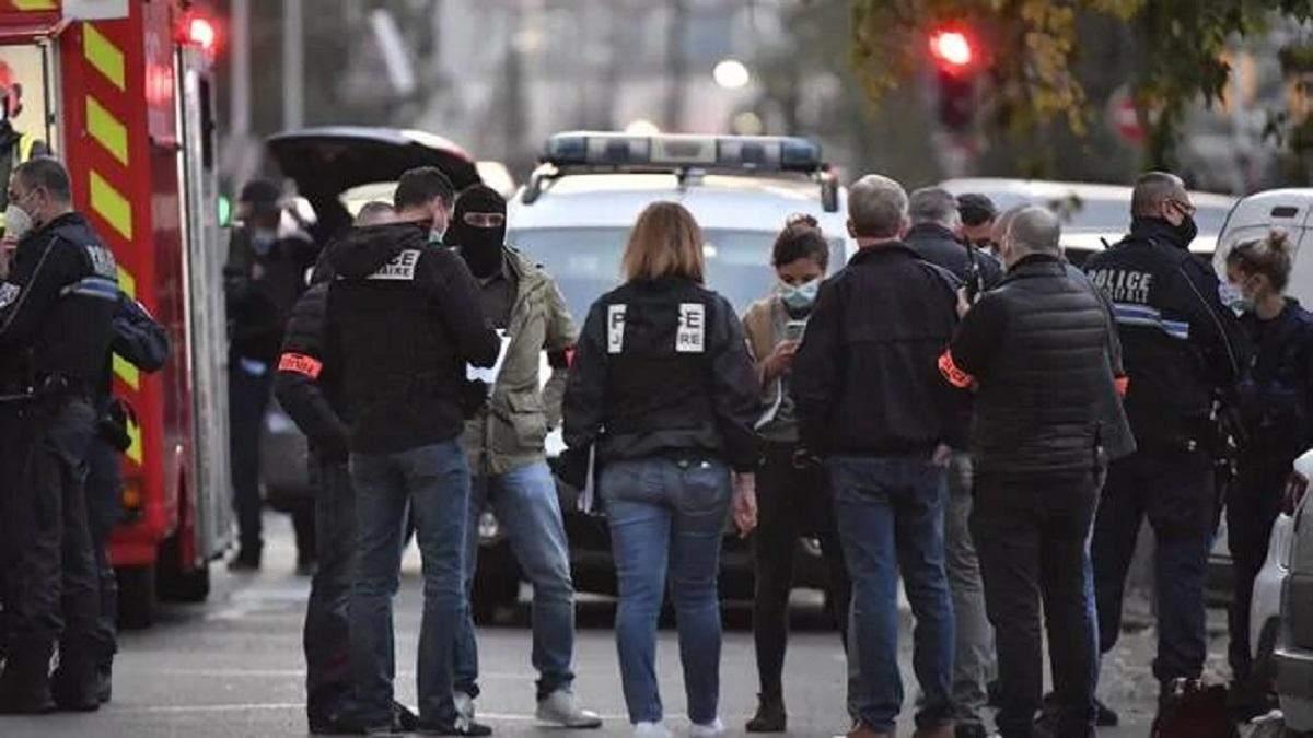 Напад у Ліоні 31.10.2020: поліція Франції відпустила нападника