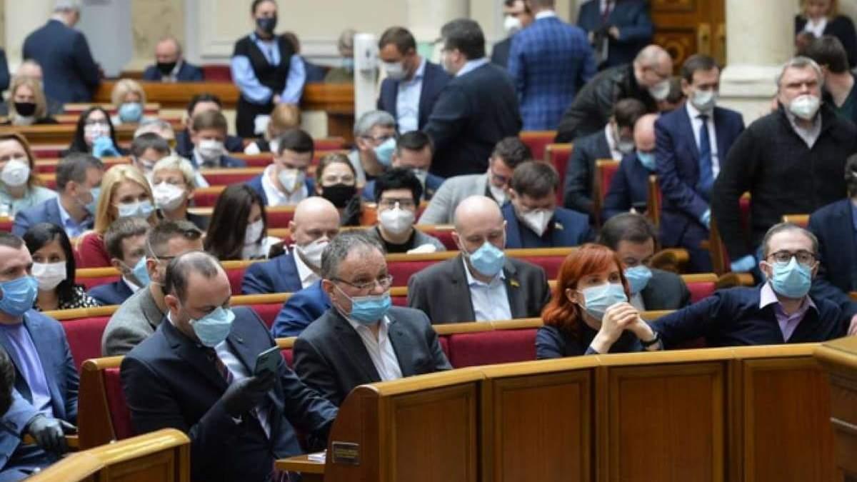 Рада приняла за основу закон о реорганизации обществ и районов