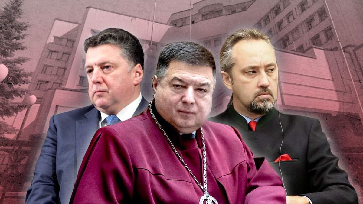Судьи КСУ и скандалы