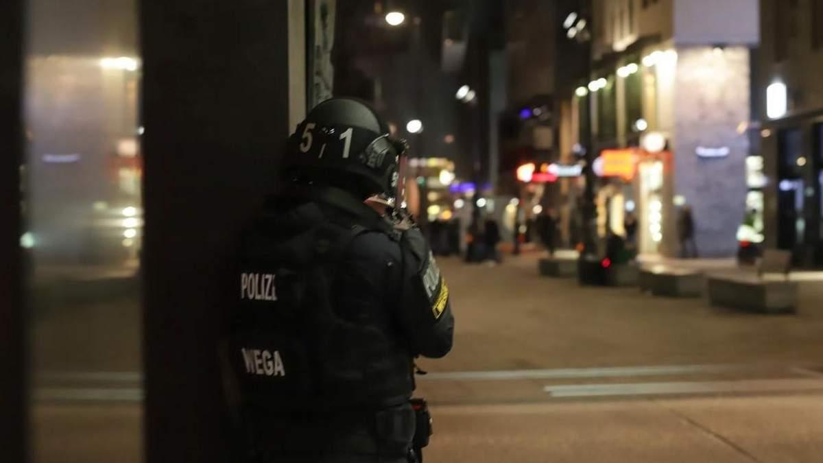 МВС Австрії: Стрілянина у Відні – теракт
