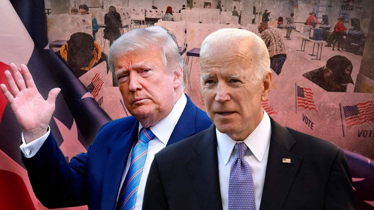 Результати виборів президента США 2020 екзитполи: хто перемагає