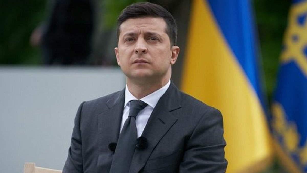 Володимир Зеленський привітав звільнення нацгвардійця Віталія Марківа