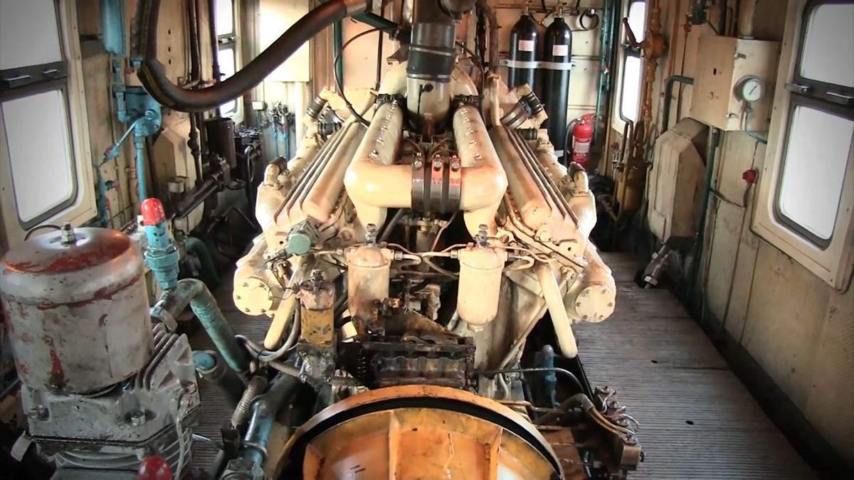 Компресор потяга