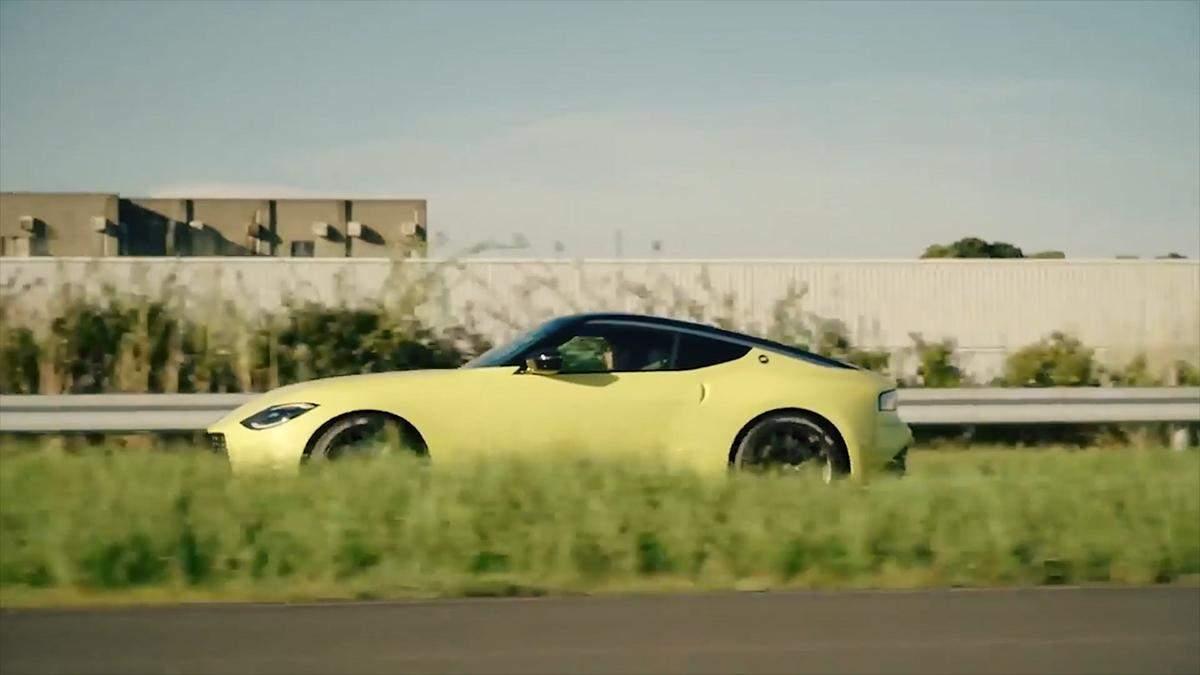 Изысканный спорткар Nissan Z Proto
