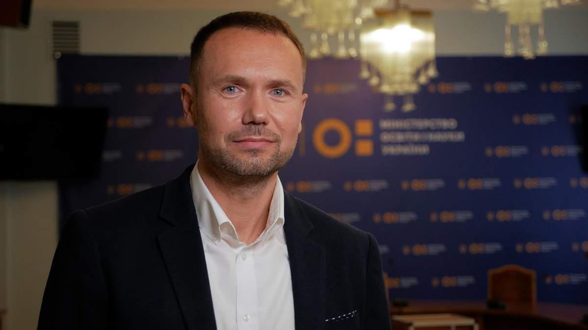 Міністр освіти Сергій Шкарлет