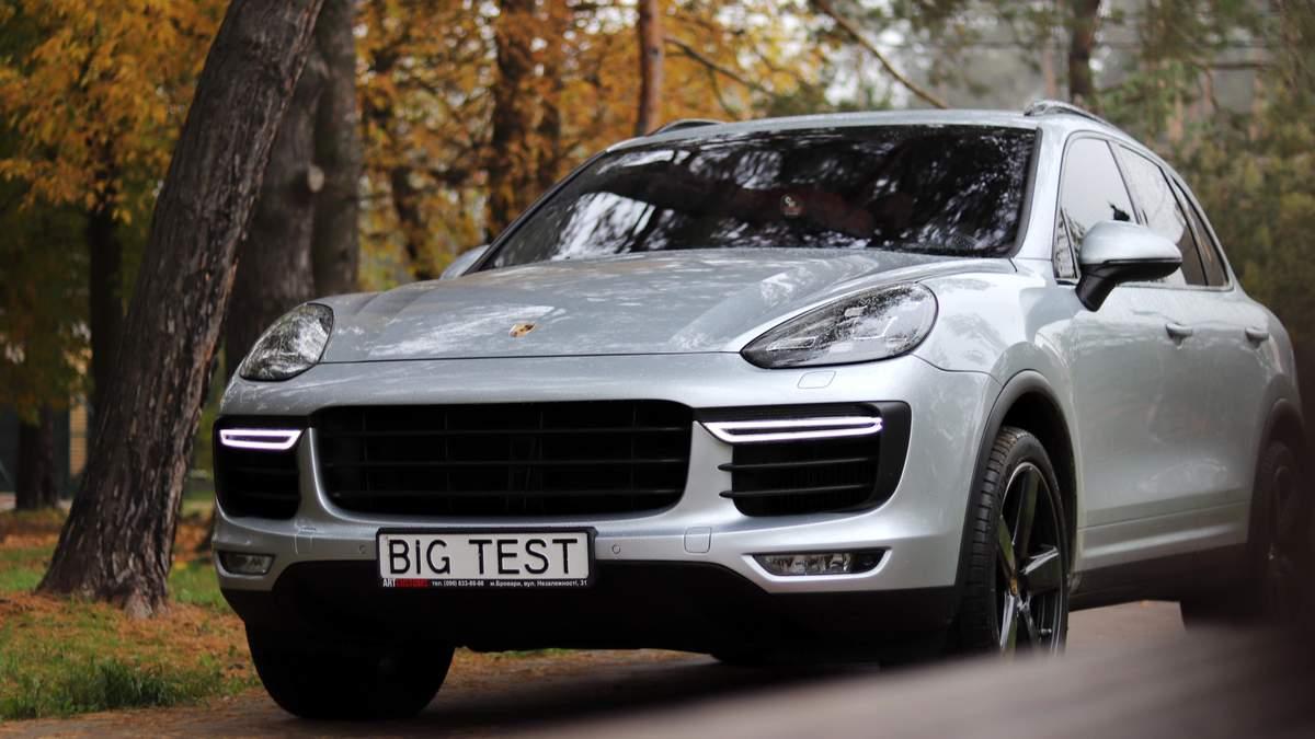 Применяемый Porsche Cayenne: цена в Украине, тест-драйв 2020