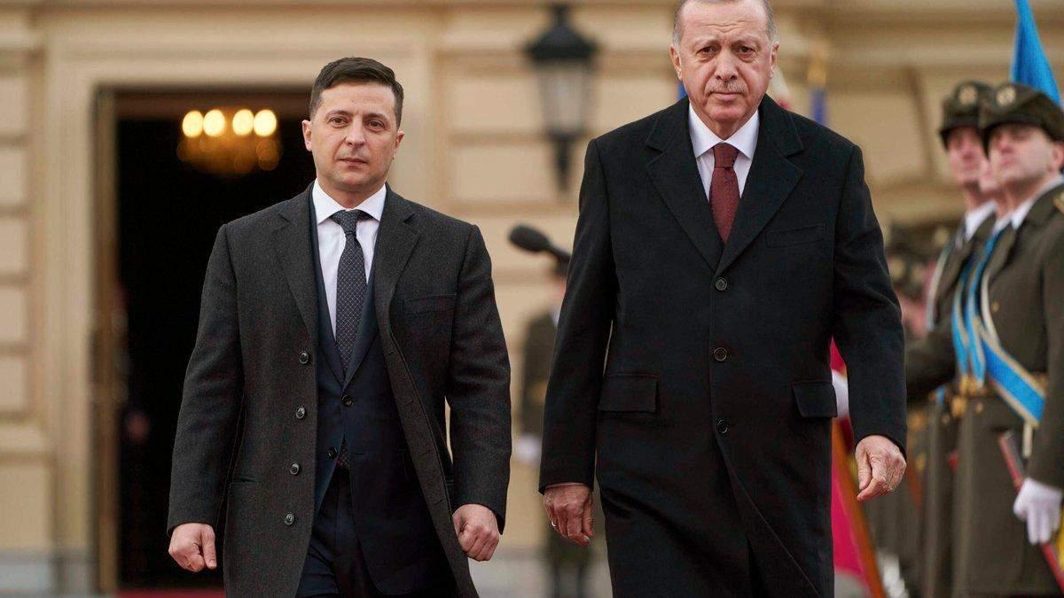 Зеленський та Ердоган