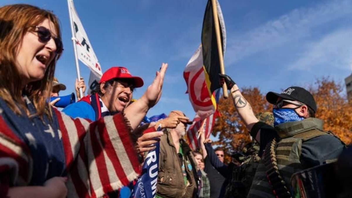Вибори у США 2020: протести прихильників Трампа - фото, відео