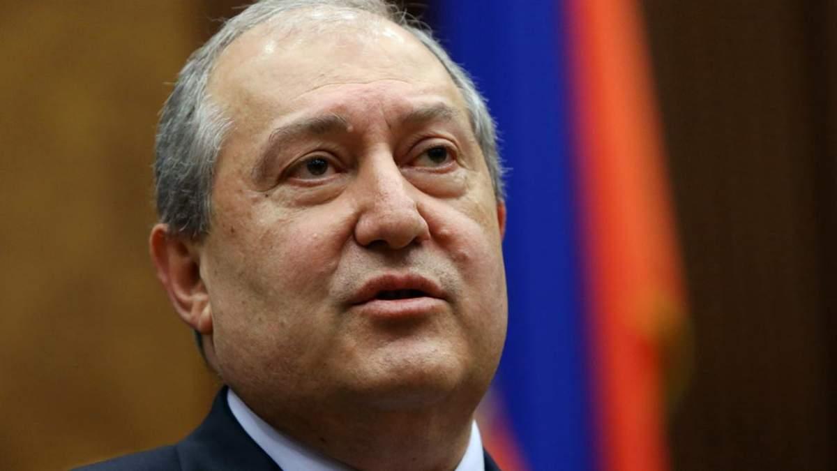 Президент Армении Саркисян о соглашении по Нагорному Карабаху