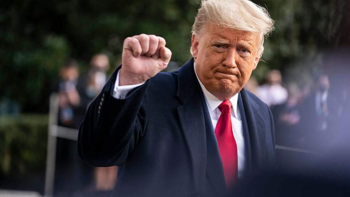Трамп не може змиритися з лідерством Байдена на виборах США