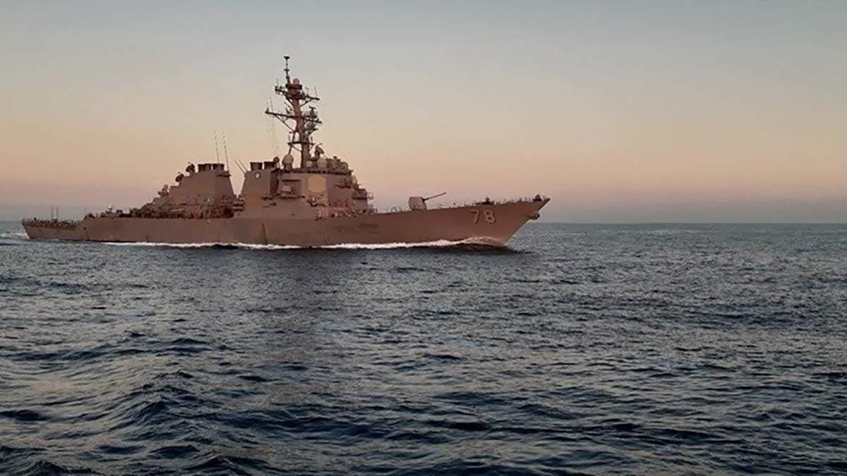 ВМС України тренувалися з кораблями НАТО у Чорному морі