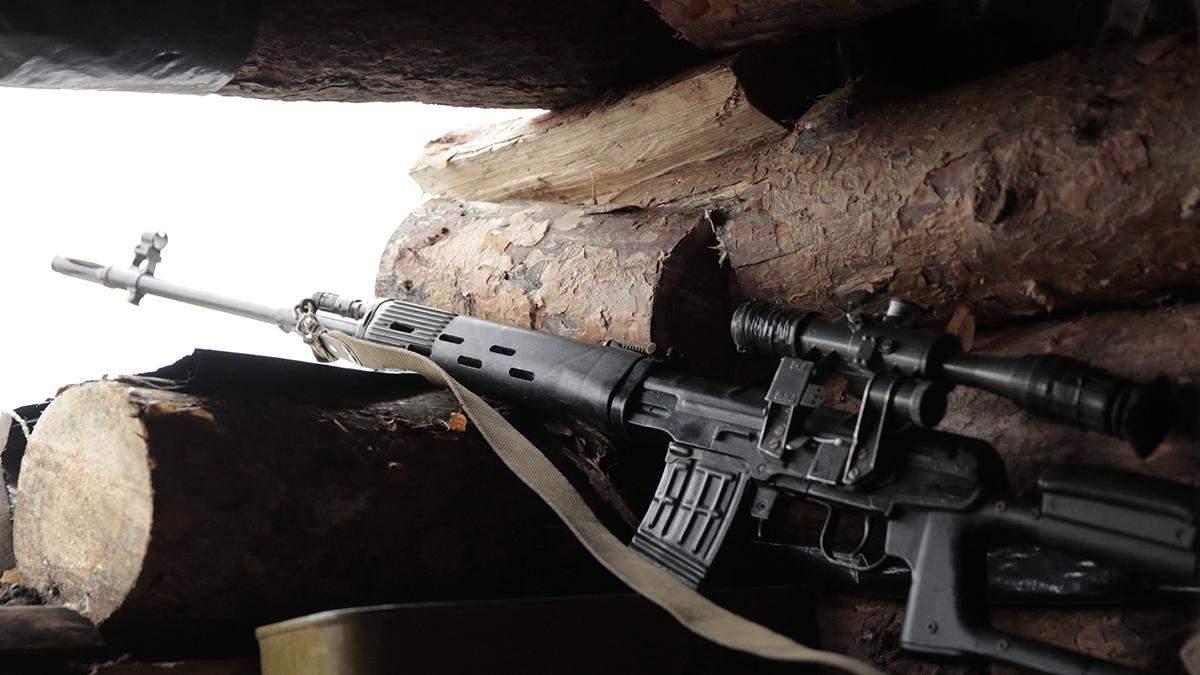 Бойовики на Донбасі 11 листопада поранили 1 українського військового