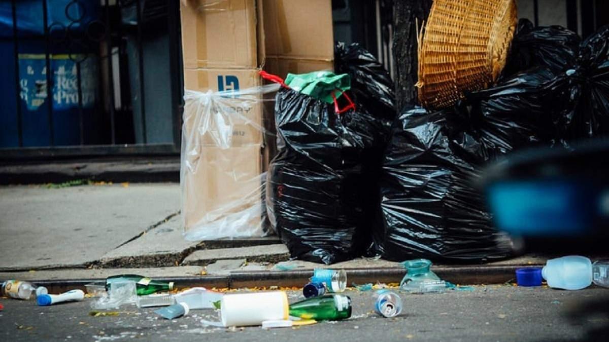Украина утопает в мусоре
