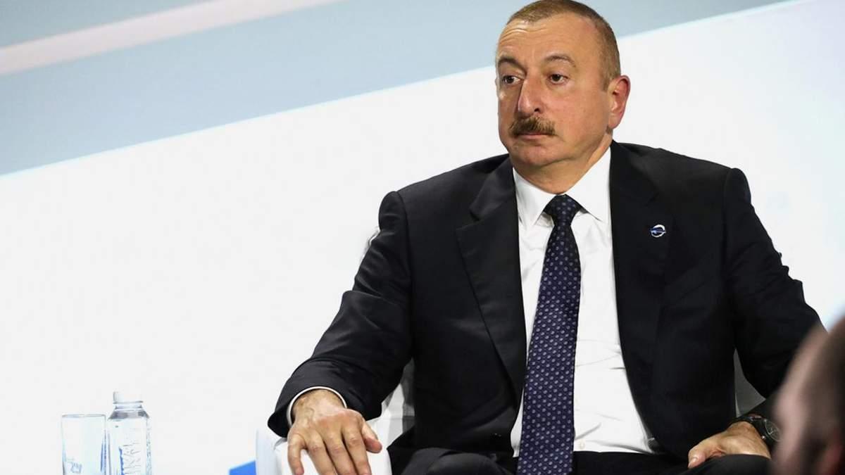 Алієв назвав Азербайджан переможцем у війні у Нагірному Карабаху