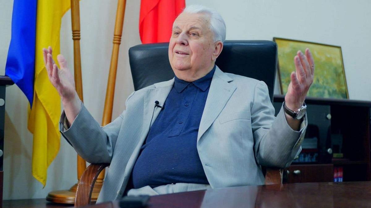 Росії доведеться йти на поступки по Донбасу, – Кравчук про план дій
