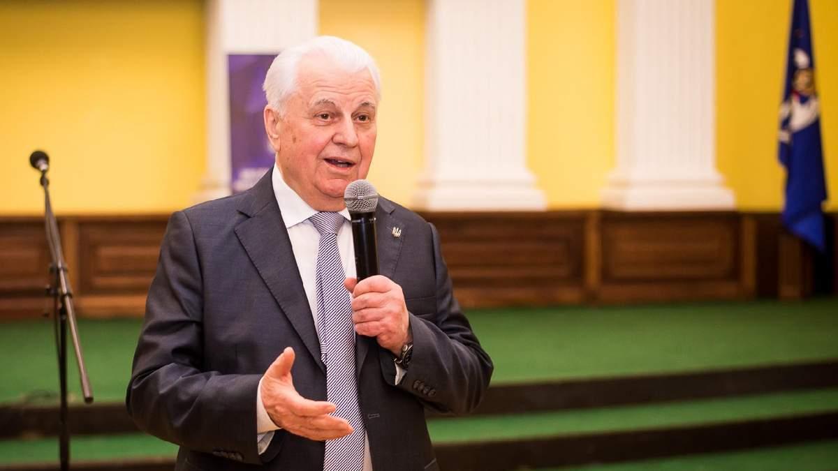 Кравчук пояснив, які дії України допоможуть провести вибори на Донбасі