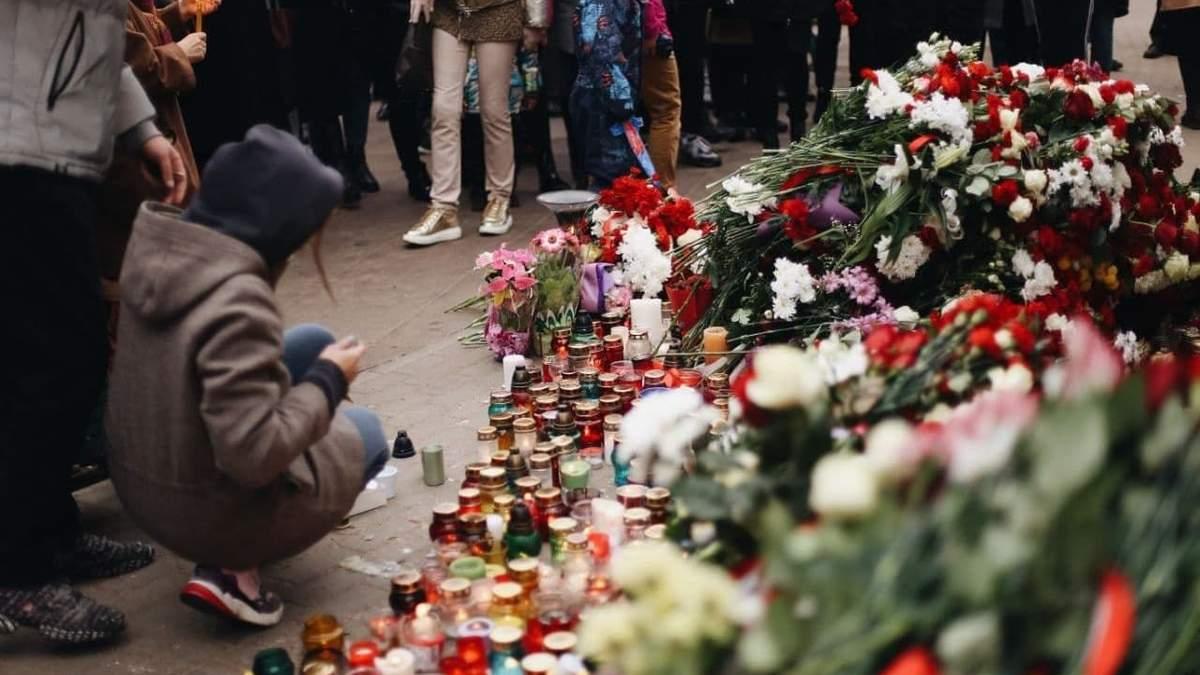 Білоруси вшановують пам'ять Романа Бондаренка 13 жовтня: фото, відео