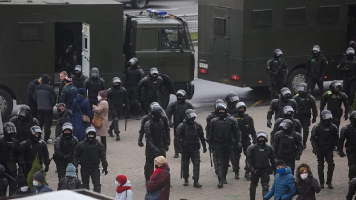 Протести в Білорусі 15 листопада 2020: новини, відео за сьогодні