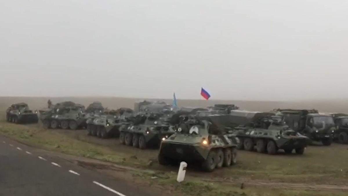 До Нагірного Карабаху стягують російську техніку: фото, відео