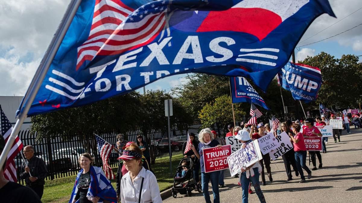 Марш миллионов в поддержку Трампа в США 14.11.2020: фото, видео
