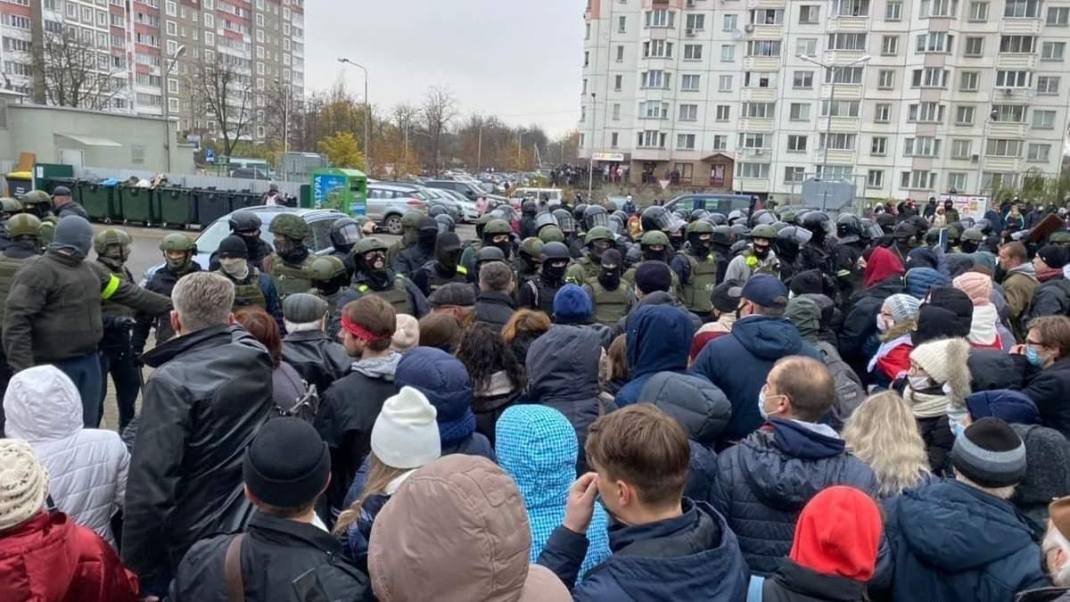 У Білорусі силовики затримують дітей 15 листопада 2020: відео
