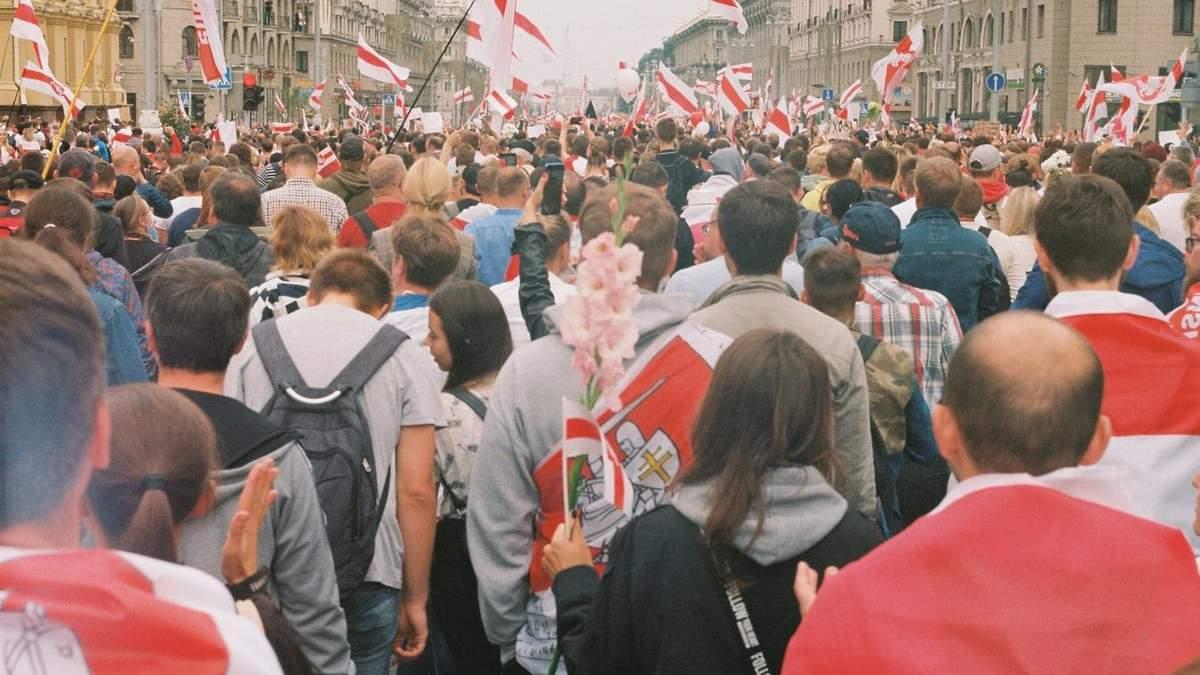 У Білорусі 15 листопада 2020 затримали понад 140 протестувальників