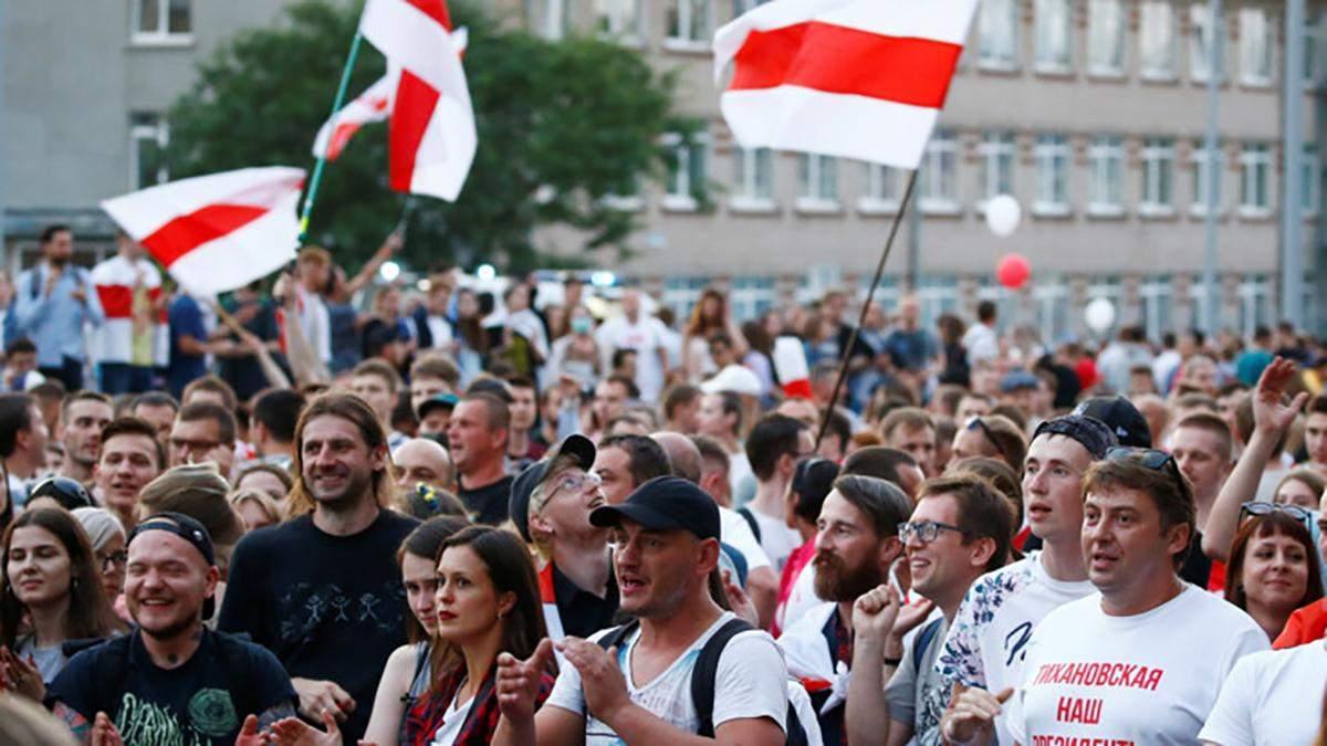 Лукашенко: Україна, Польща та Литва винні у протестах в Білорусі
