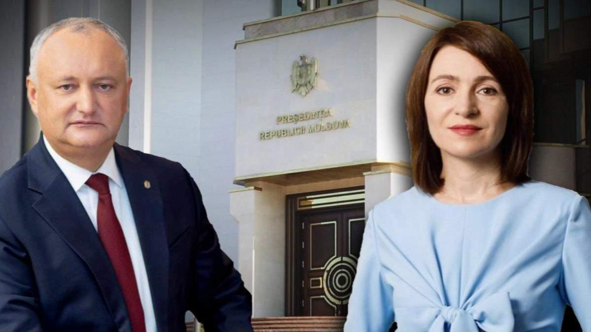 2 тур виборів президента Молдови 2020: якими були результати екзитполів