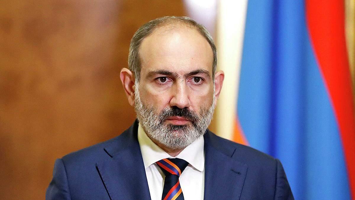 Пашинян вважає себе відповідальним за ситуацію у Карабасі