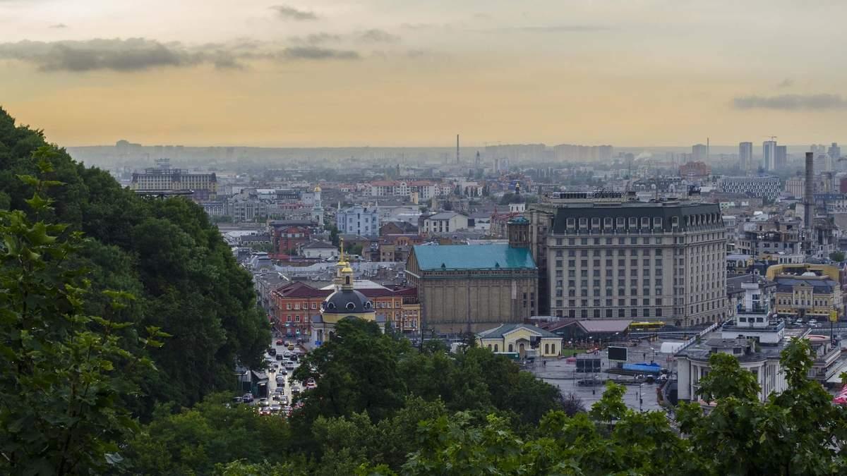 Плохое качество воздуха в Киеве: столица снова попала в рейтинг IQair