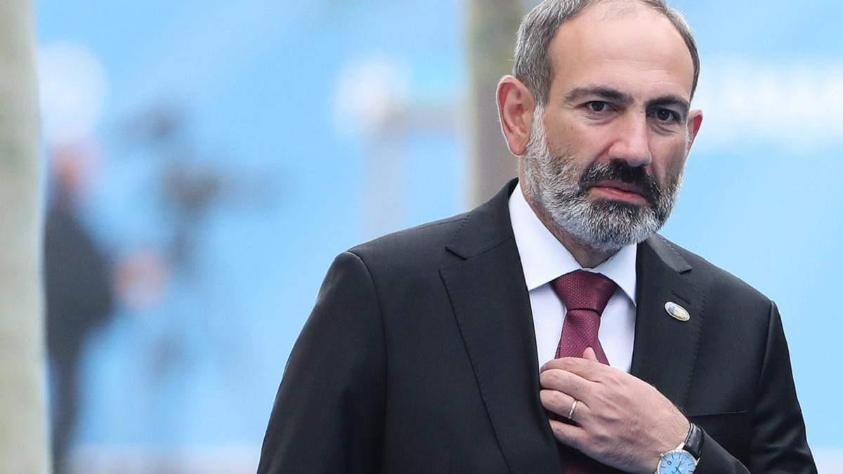 Президент Вірменії закликав Пашиняна піти у відставку