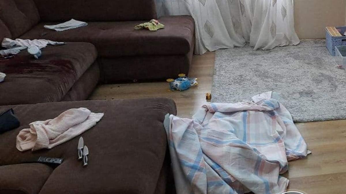 В Курахово Донецкой области мужчина зарезал 3-летнего ребенка