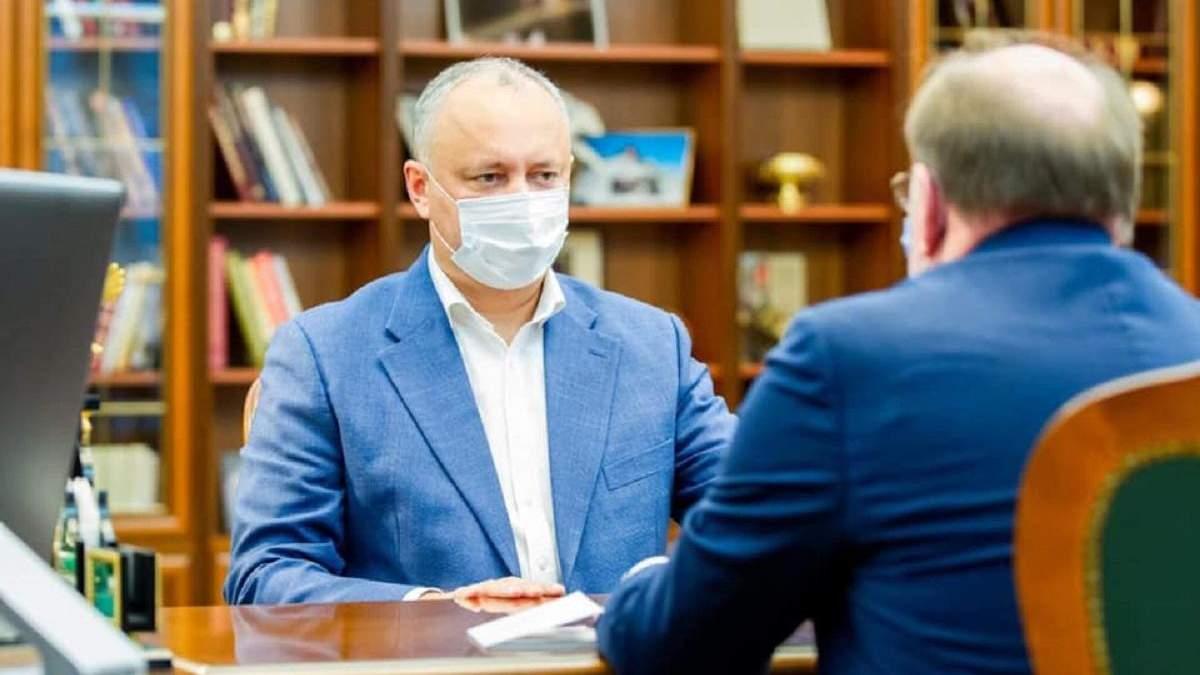 Ігор Додон планує візит у Мосвку: для чого йому це і що відомо