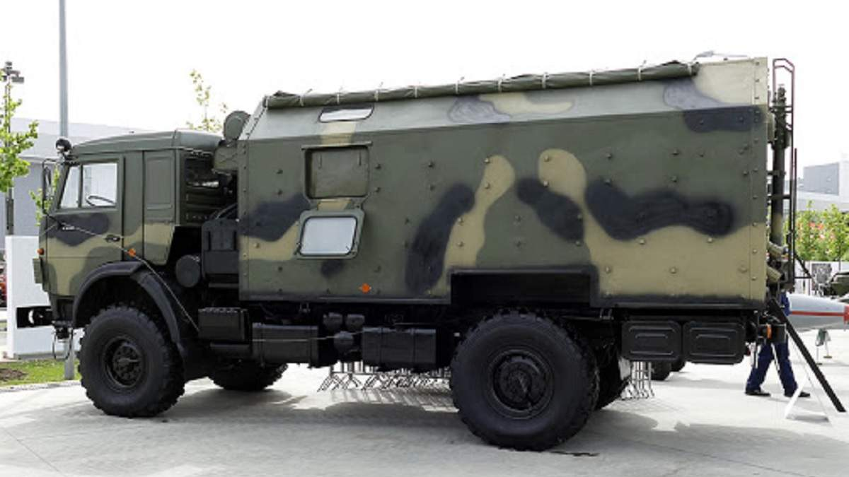 """На Донбасі вперше зафіксували новітній російський комплекс """"Наводчик-2"""": фото"""