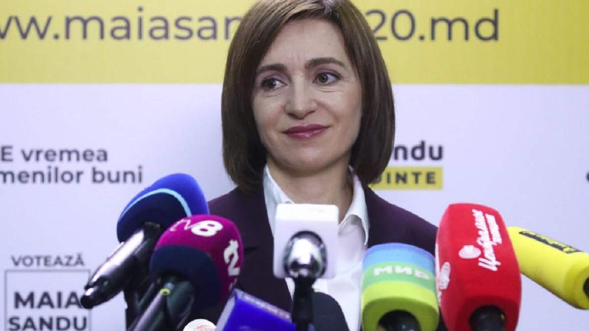 Санду: Я продовжу говорити, що Крим – це Україна