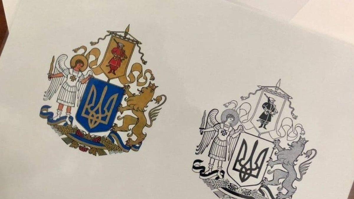 Найкращий ескіз великого Державного Герба України