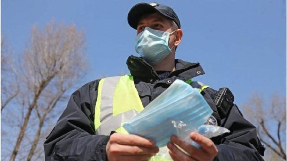 Украинцев с 21.11.2020 будут штрафовать за отсутствие маски