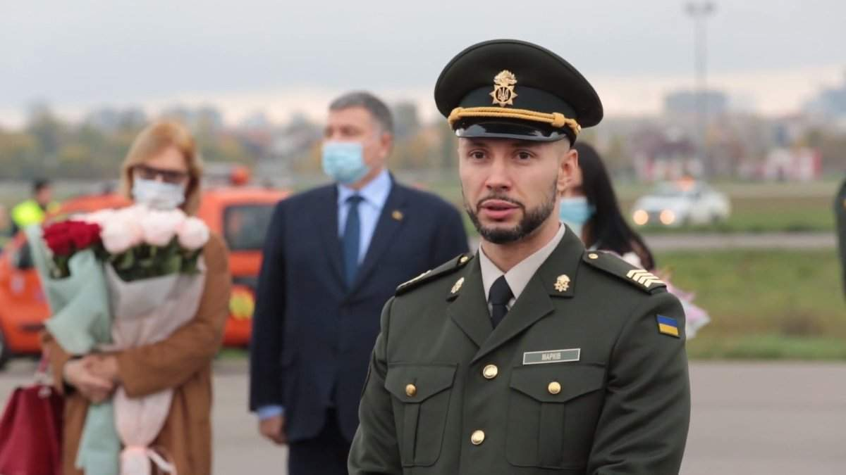 Виталий Маркив возобновил службу в Нагвардии