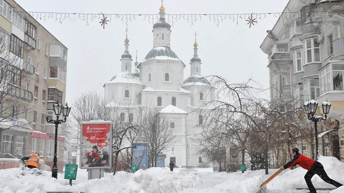 Сніг у Сумській області 20 – 21 листопада 2020: фото