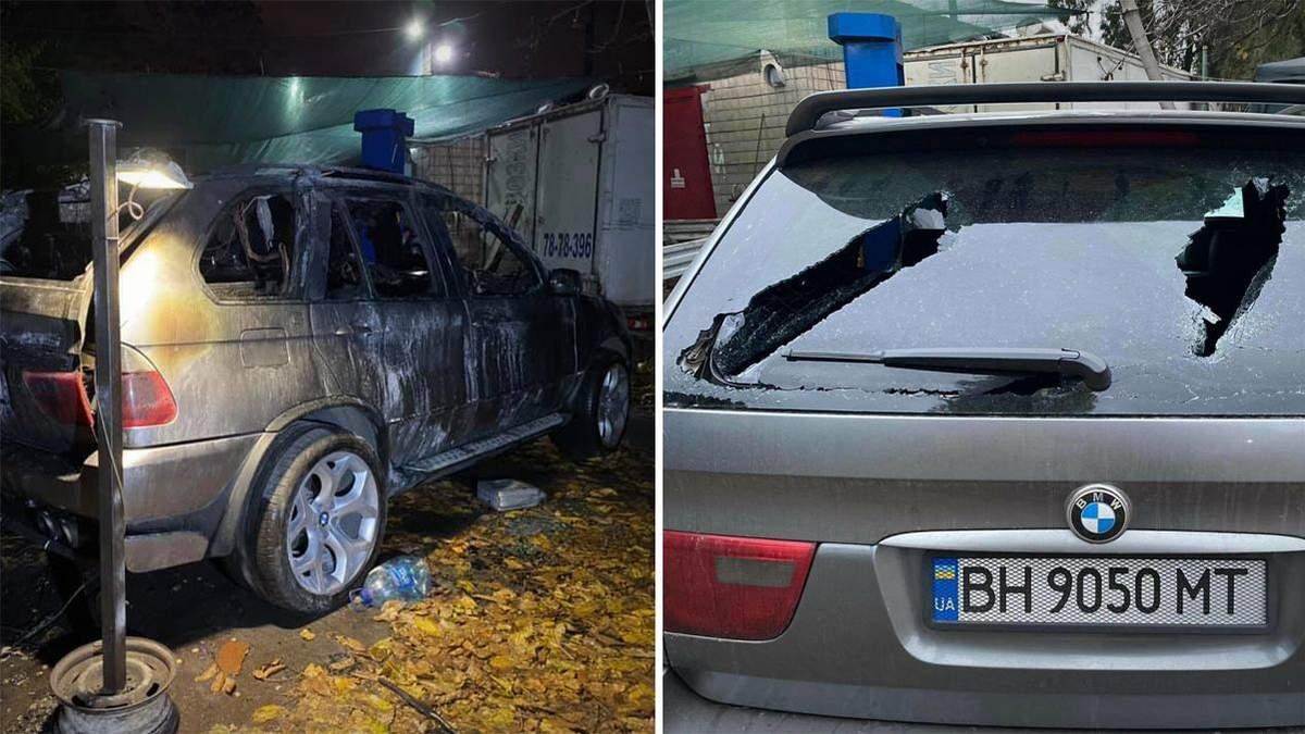 В Одесі 21 листопада 2020 спершу розбили, а потім спалили авто активіста Дем'яна Ганула: що відомо