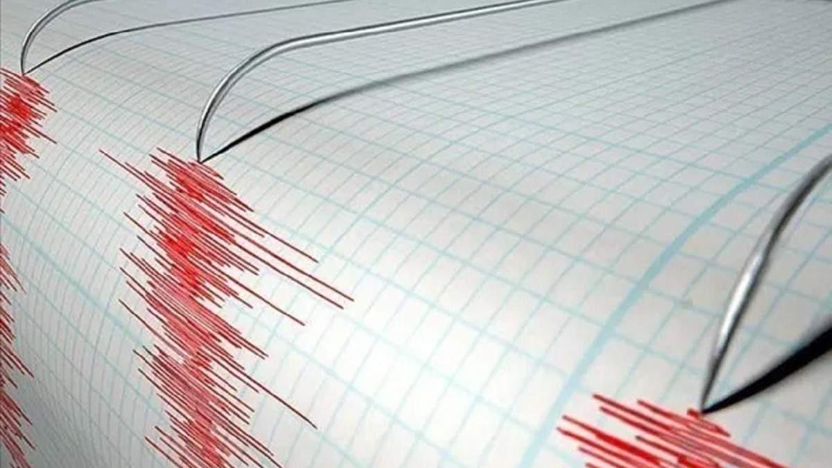 У побережья Японии зафиксировали мощное землетрясение
