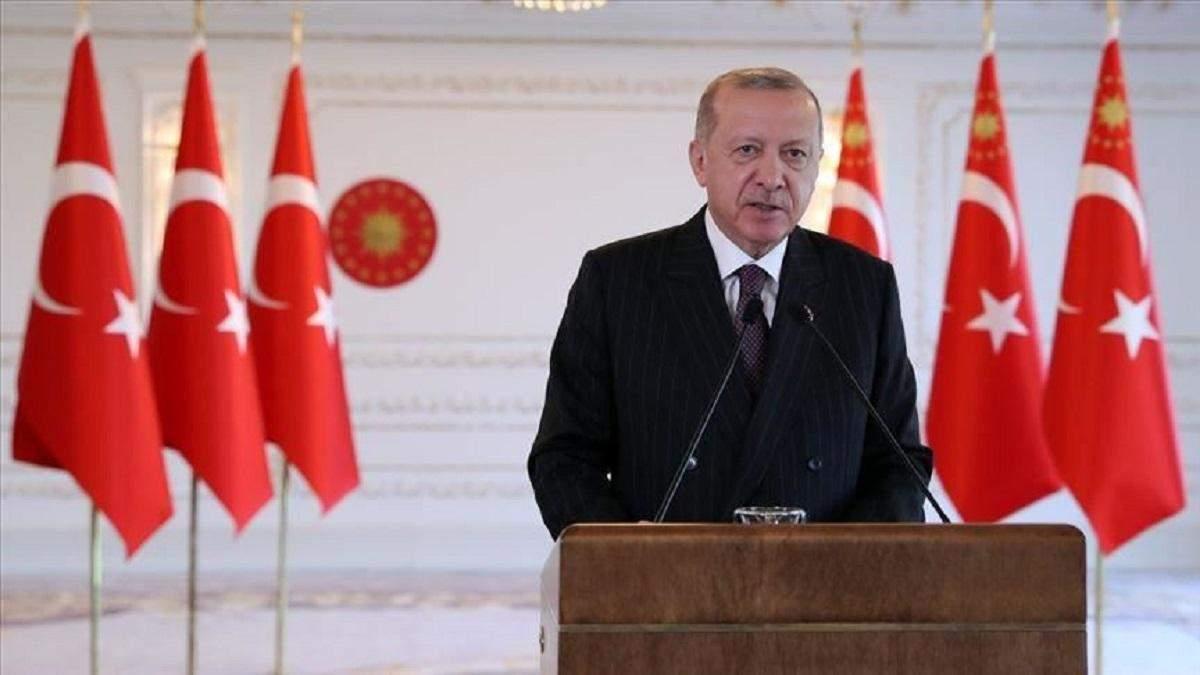 Турция настаивает на вступлении в Евросоюз: заявление Реджепа Эрдогана